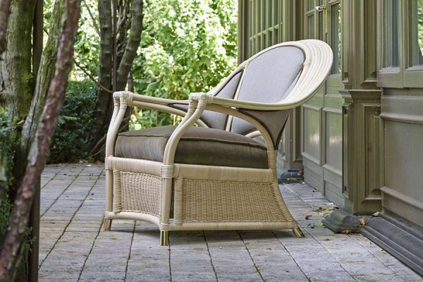 DFN Luxury Outdoor Furniture Natural Rattan Isabella Armchair