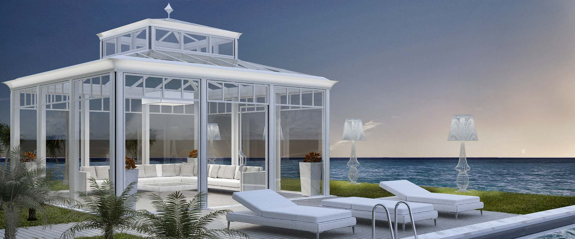 Moderno Winter Garden   DFN Luxury Outdoor Furniture And Projects