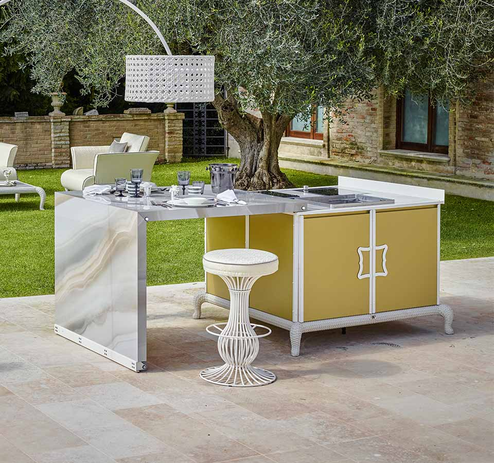 Polaris Designed For Living Srl luxury outdoor kitchens - dfn luxury outdoor furniture and
