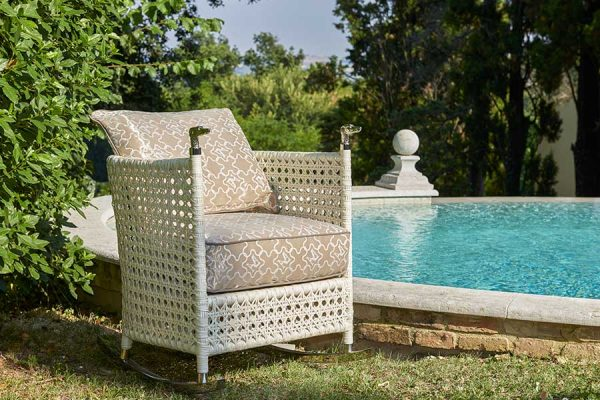 DFN-luxury-outdoor-furniture-shaula-white-rocking-armchair-pool