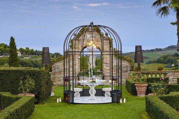 Gazebo bird cage