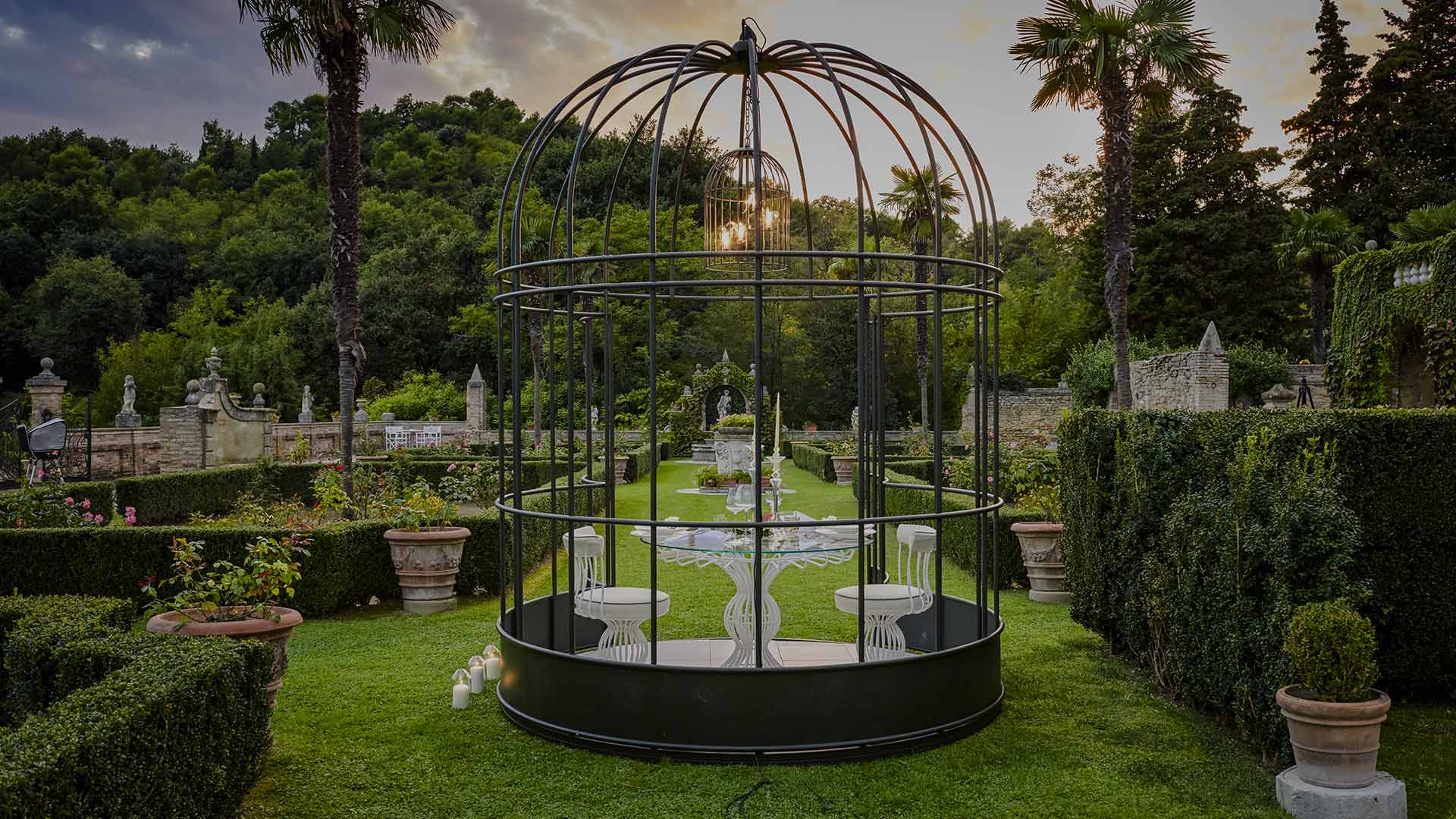 Sirio Bird Cage - Siderale - Samuele Mazza Outdoor Collection