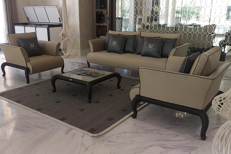 Doha Showroom - DFN Luxury Outdoor Furniture and Projects