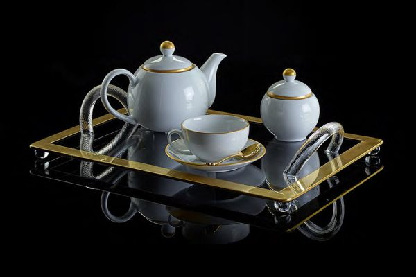 Golden age tea set