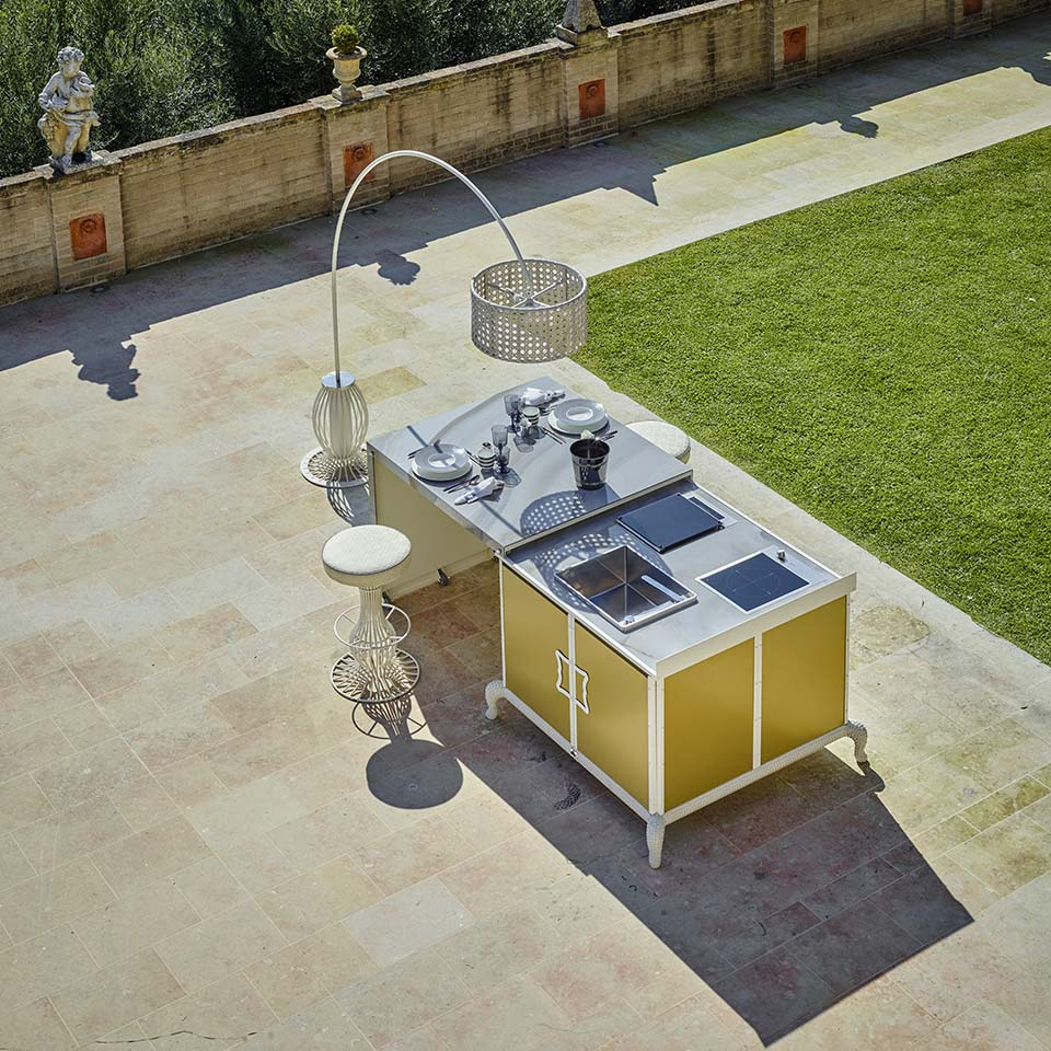 Cucine per Esterno - DFN Luxury Outdoor Furniture and Projects
