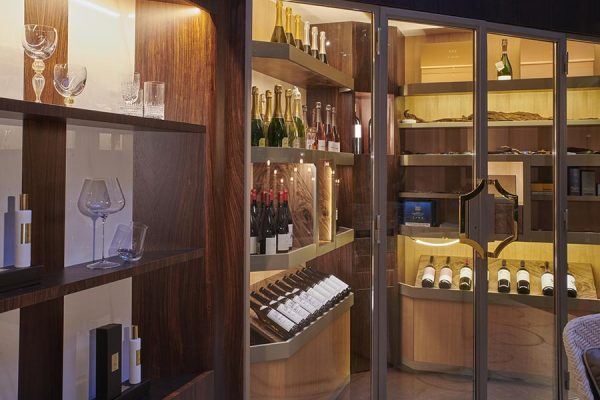 DFN-Luxury-wine-cellar-Campo-tayloring-woodworking-glasses